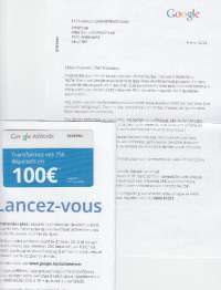 "Beau ""case Google"" pour la promotion du Direct Mail !"